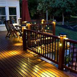 malibu solar landscape lights 32 amazing deck lighting ideas which add a charm to your