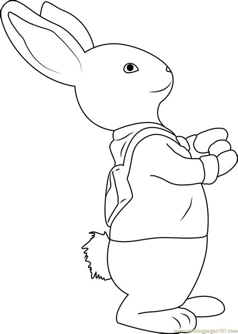 rabbit coloring pages pdf peter rabbit coloring page free peter rabbit coloring