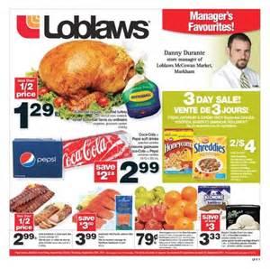 Printable Grocery List Loblaws On Flyer Sept 23 29