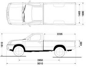 Nissan Frontier Truck Bed Dimensions Car Blueprints Nissan Frontier Bad 4x2 Blueprints