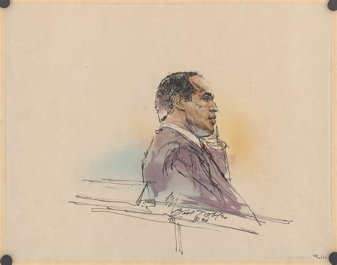 Pen Pencil Cjr courtroom sketches from infamous trials get a new exhibit
