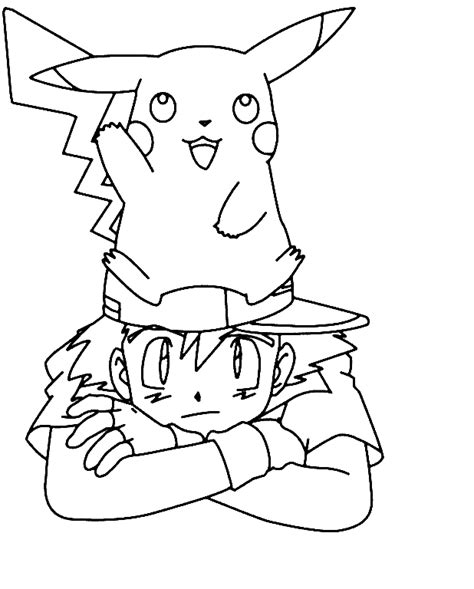 pikachu coloring pages printable free coloring pages of pikachu