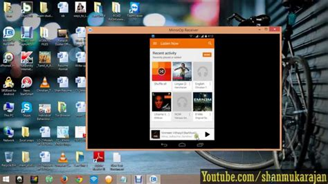 show android screen on pc display android screen in computer via wifi network