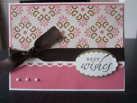 Handmade Best Wishes Cards - 96 best images about wedding cards ideas on