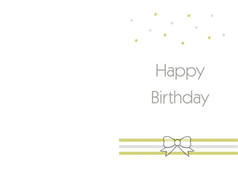 Happy Birthday Card Template Free by Free Printable Birthday Cards Ideas Greeting Card
