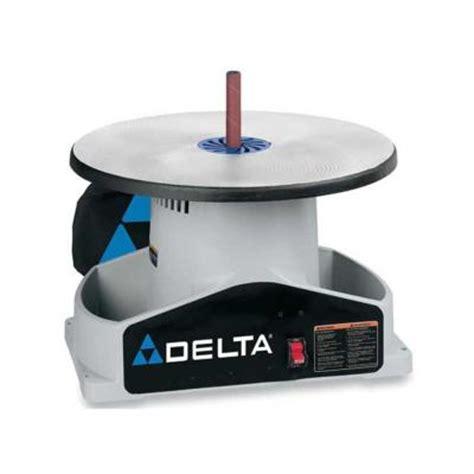 home depot bench sander delta bench oscillating spindle sander with kit sa350k