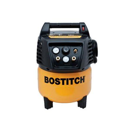 factory reconditioned bostitch btfp02011 r 6 gallon free pancake air compressor