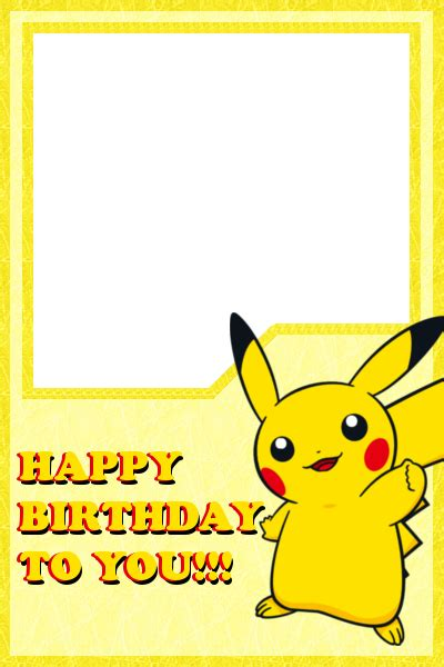 pikachu birthday card template pikachu happy birthday card design by vahntreorr on deviantart