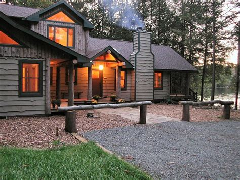 saranac lake cottages saranac lake cabin rental beautiful lakeside c on saranac lake homeaway