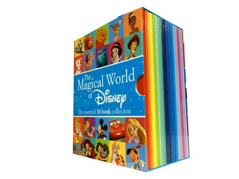 Disney Minnie Story Books Library Collection 5 Books Set disney magic world box set 30 books collection children