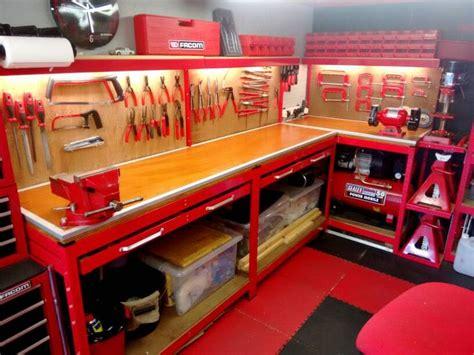 Power Tool Storage Garage Journal Refinished My Workbench Built Myself A Tool Creeper