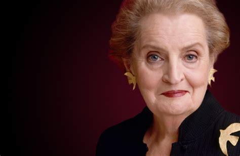 President S Cabinet Madeleine K Albright Colorado Women S Hall Of Fame