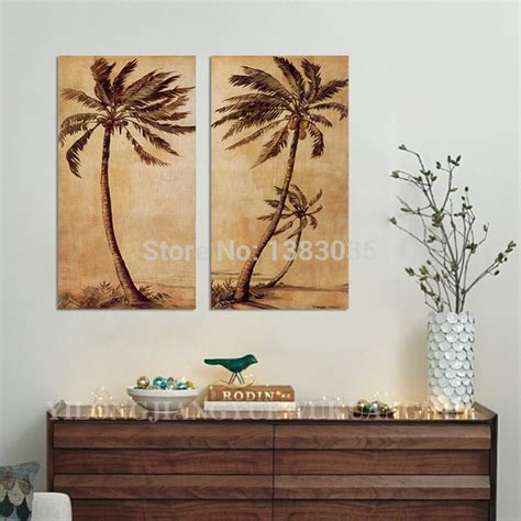wall designs palm tree wall painted abstract