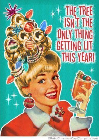 lets  merry retro christmas party invitations  fill  invites  envelopes
