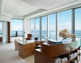 penthouse miami contemporary home office