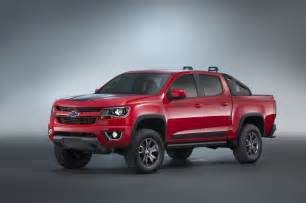 2016 chevrolet colorado z71 trail 3 0 concept sema