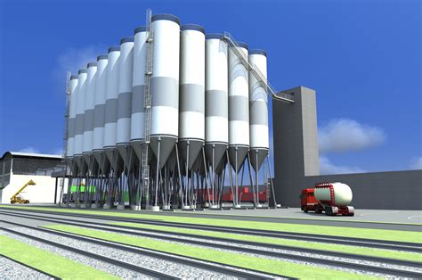image silo 7 storage of bulk products in silos7 stockage de