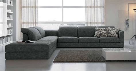 sofas de tela sof 225 s esquineros de tela