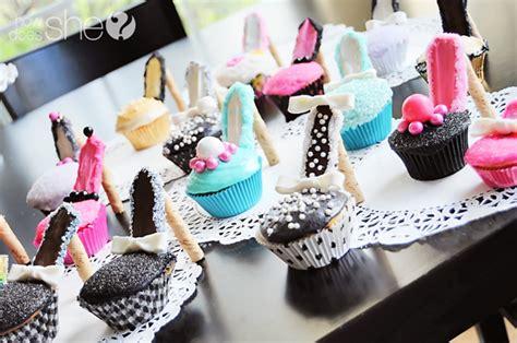 high heel birthday decorations high heel cupcakes the secret to them