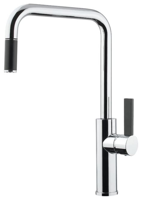 modern faucets for kitchen luz mono shower faucet brushed nickel modern kitchen