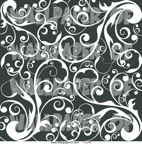 black and white vine wallpaper wallpaper of a vintage scroll background of curling white