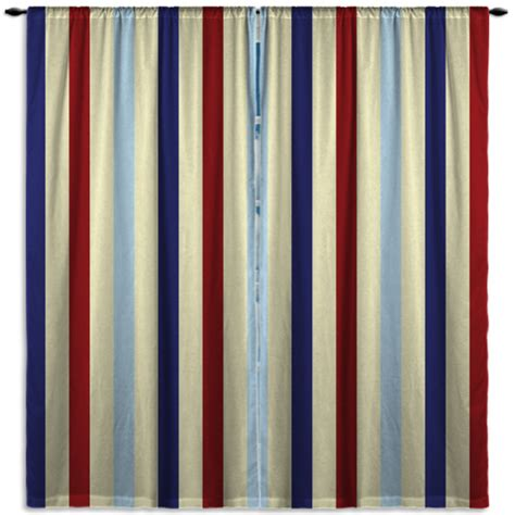 navy blue and red curtains vertical striped navy blue red and beige curtain panels