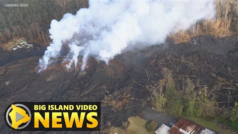 Big 8 An Update by Hawaii Volcano Eruption Update Thursday Morning May 10