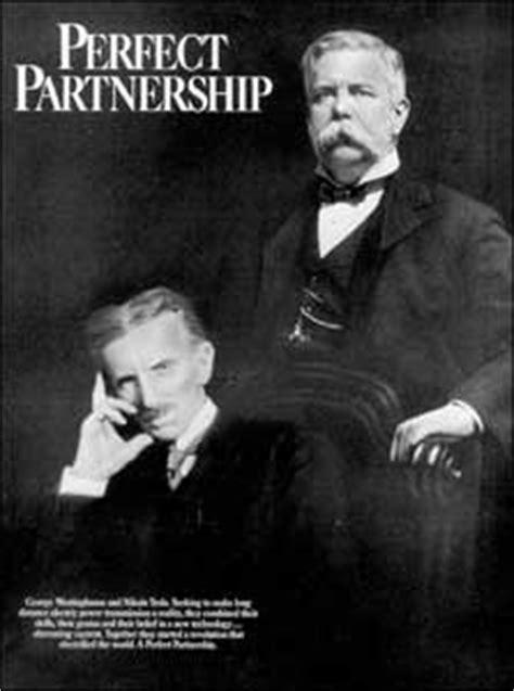 George Tesla Nikola Tesla And George Westinghouse With The Big Money