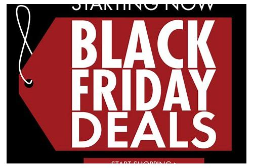 black friday deals starting now