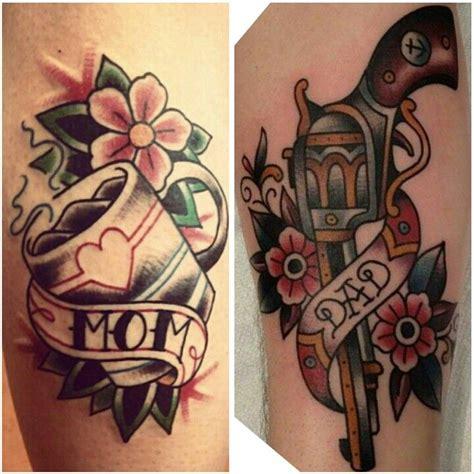 Tattoo Old School Dad | mom and dad tattoos tattoooos pinterest
