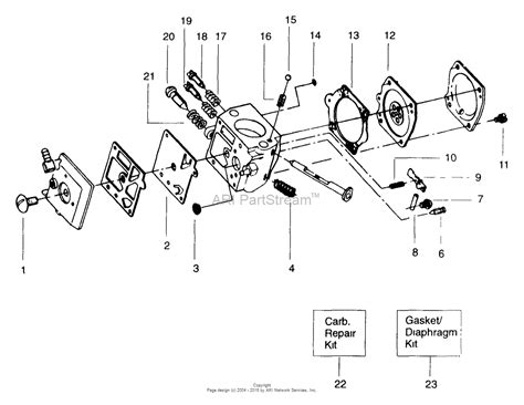 poulan chainsaw carburetor diagram poulan pp335 predator gas saw 335 predator gas saw parts