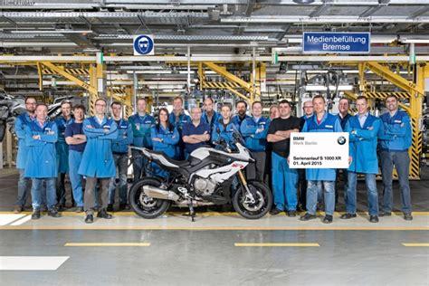 Bmw Motorräder Werk Berlin bmw s 1000 xr produktion im motorrad werk berlin gestartet