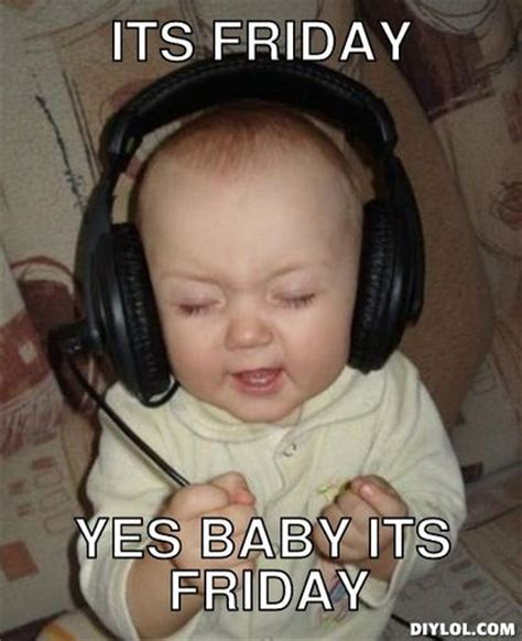 Meme Generator Baby - pammie s crib tgif