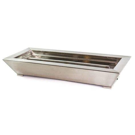 american fireglass paramount indoor outdoor fireplace pan
