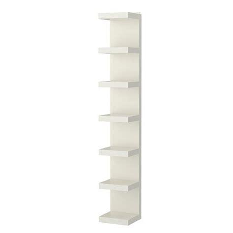 Lacquer Shelf by Lack White Lacquer Wall Shelf Unit Aptdeco