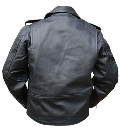 Gebrauchte Motorradbekleidung Leder by Motorradjacke Leder Chopper Schwarz