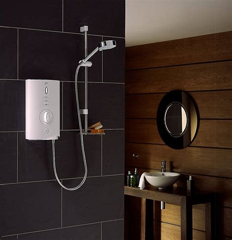 Myra Maxy mira sport max 10 8kw white and chrome electric shower