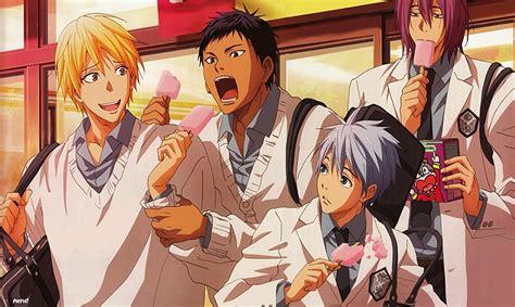 Baju Basket Kuroko anime dengan seragam sekolah terbaik anime kesayanganmu masuk list
