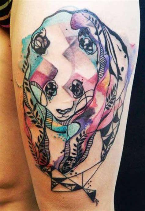 tattoo oso panda significado 20 fotos de tatuagens de panda significados
