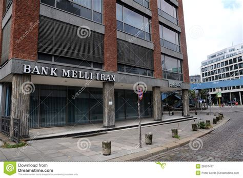 Bank Melli Iran In Hamburg Editorial Photography Image Of