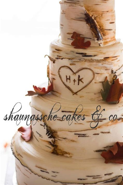 Hochzeitstorte Baum by Shaunassche Cakes Co Birch Tree Wedding Cake Would Be
