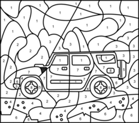 color by numbers coloring book for cars mens color by numbers cars coloring book color by numbers books for volume 1 books road car coloring page printables apps for