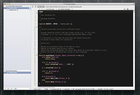 Mac Mba Program by Macでのphp開発におすすめのテキストエディタ比較 Php Archive