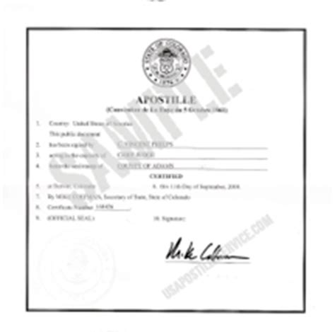 Birth Records Denver Colorado Colorado Apostille