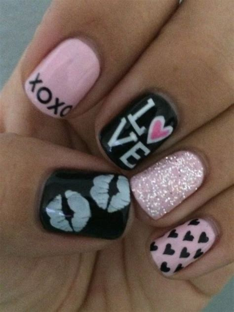 fabulous valentines day nail art designs  work