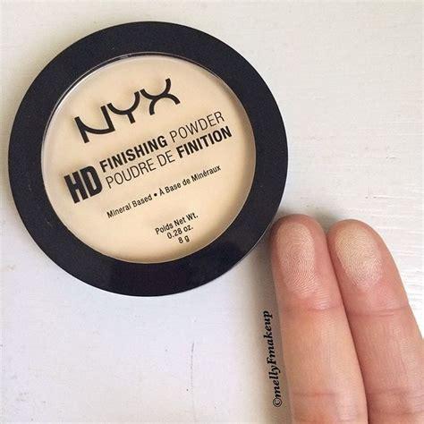 Bedak Nyx Ultra Definition Powder nyx hd finishing powder in banana follow my instagram