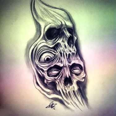 small scary tattoos 13 scary designs images
