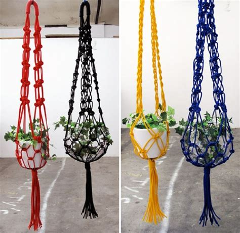 Macrame Patterns Plant Hangers - 25 best ideas about macrame plant hanger patterns on