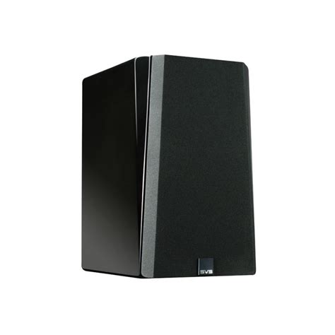 svs prime bookshelf black gloss speakers pair svs