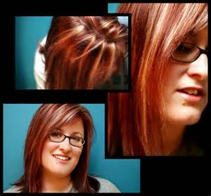 red hair for over 50 image detail for dark brown hair with red highlights
